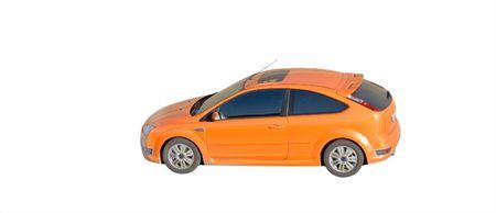 orange car isolated Stock Photo - 3106940