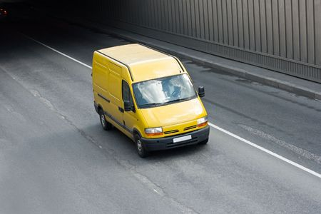 yellow van photo