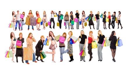 shoppers Stock Photo - 3268942