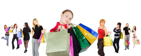 go shopping: all those who go shopping