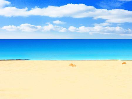 beach and sun Stock Photo - 3268819