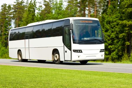 blank tour bus Stock Photo - 3268534