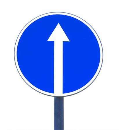 seguir adelante: seguir adelante signo