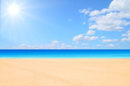 beach and sun Stock Photo - 3268403