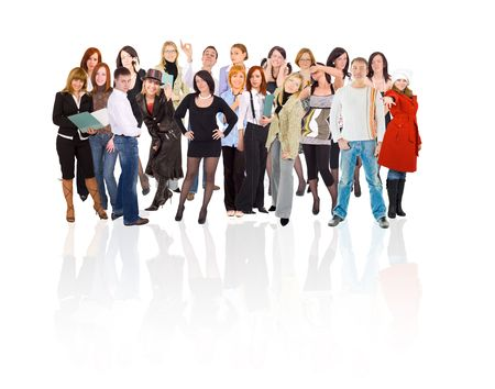 students large group Stock Photo - 3268955