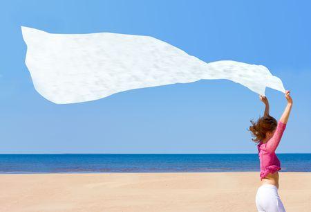 wind blows  photo