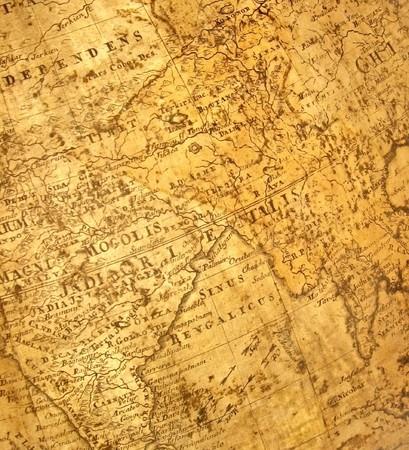 Fragment der alten Karte