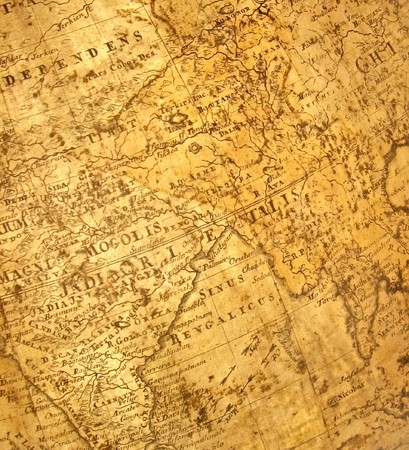 wall maps: fragmento de la antigua mapa