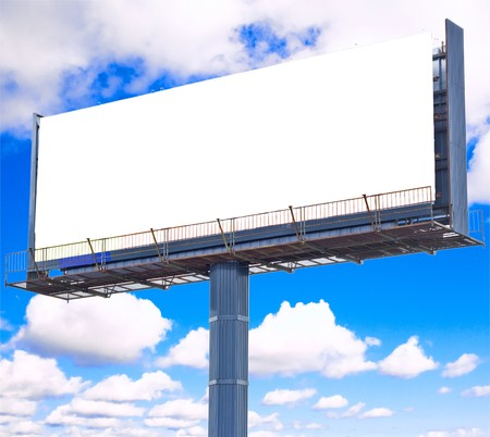 your ad should be here - of Blank Billboards multiple series photo