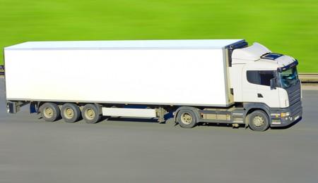 truck on green  photo