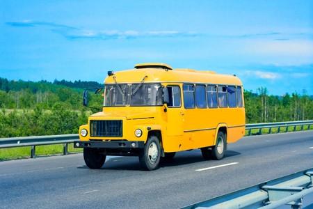 grade school age: school bus