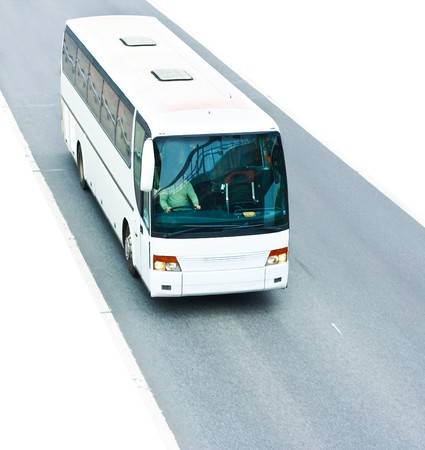 blank white coach Stock Photo - 4571266