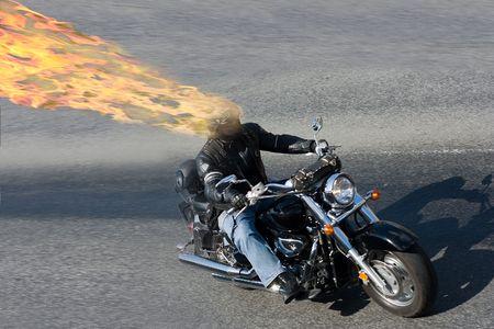 Hell rider photo