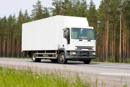 blank van Stock Photo - 4902304