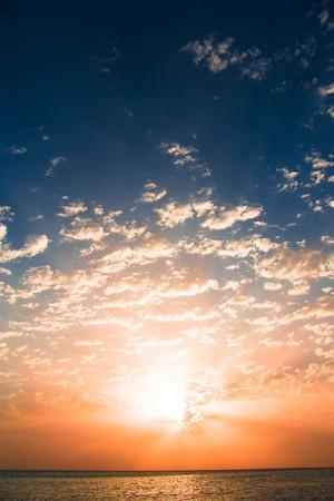 Burning the morning sky Stock Photo - 7951440