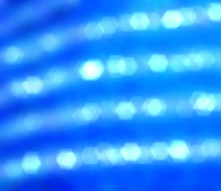 perl: Blurred perl strings shining on blue
