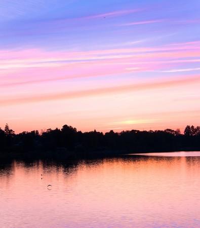 Pink sunset Stock Photo - 7951367