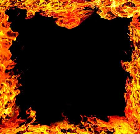 fire danger: Fire frame
