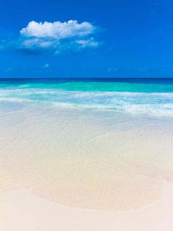 stormy waters: Resort Paradise Beach