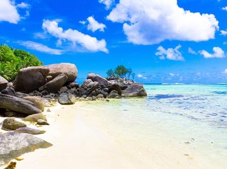 Belleza de la naturaleza de playa  Foto de archivo - 9829379