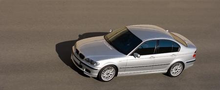 car isolated on gray photo