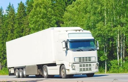 banner ready blank truck photo