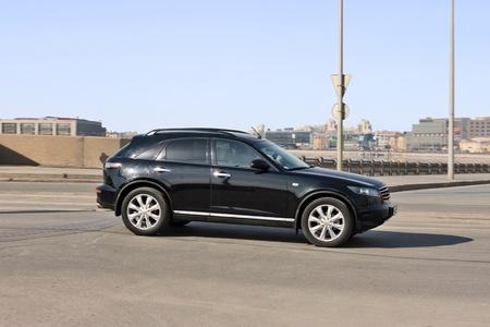 car speed on street photo
