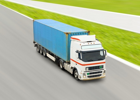 truck with container Stock Photo - 10076712