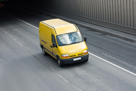 shipper: yellow van