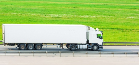 banner ready blank truck