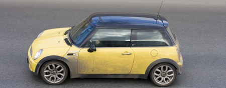 cooper: small mini compact car of my cars series