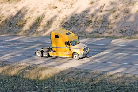 tow tractor: American truck  of Trucks series in my portfolio