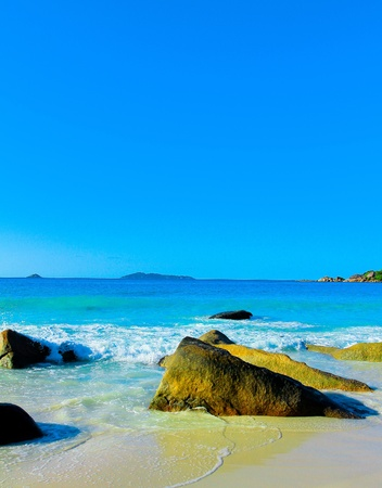 Waves Sea Landscape  photo