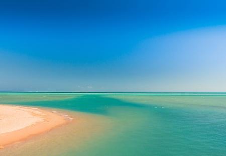 panoramic beach: Warm Sea Paradise