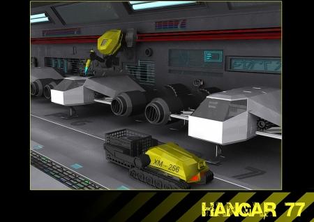 planetoid: Hangar