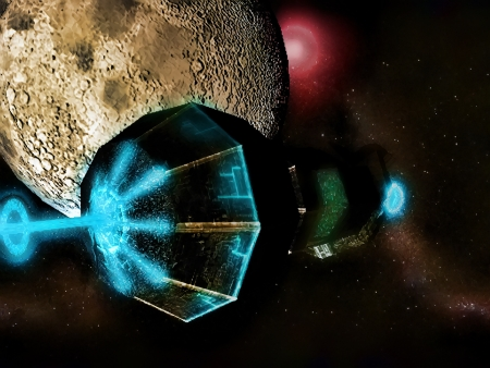 planetoid: Alien Spaceship