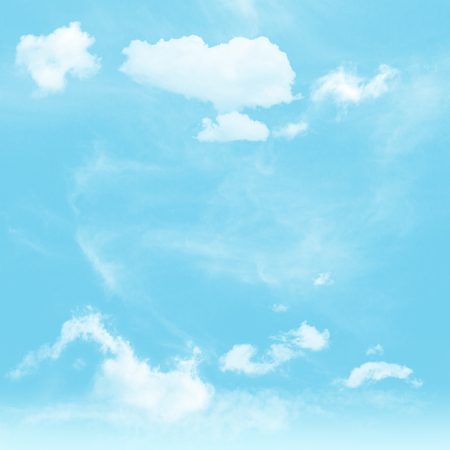 Blue sky,Cloud ,nature background Stock Photo