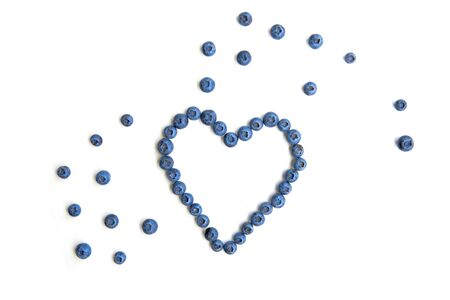 Healthy and delicious blueberry image. Stock Photo