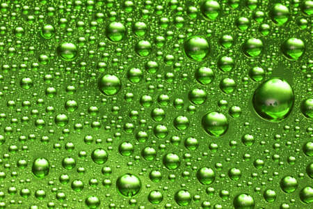 green water drop for background  Stock Photo - 2537271