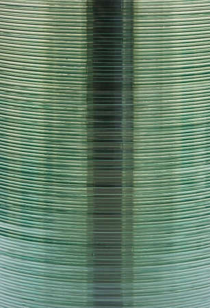 stack of disks for background  photo
