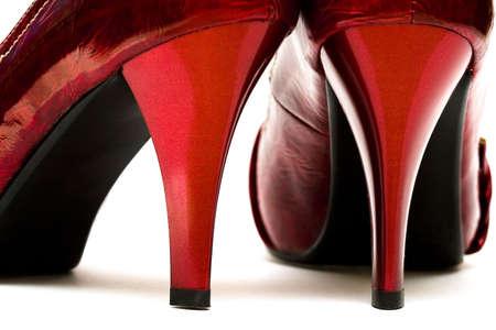 womanish shoes isolated on white background  Stock Photo - 3922499