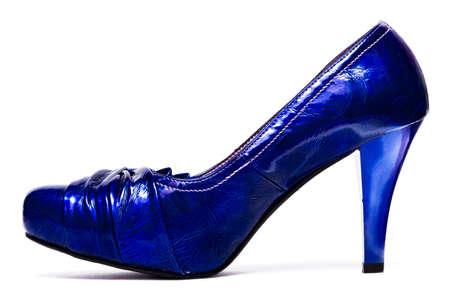 womanish shoes isolated on white background Stock Photo - 3952684