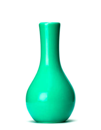 collectable: vase isolated on white background  Stock Photo