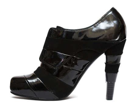 Black womanish shoe isolated on white background  Stock Photo - 4721957