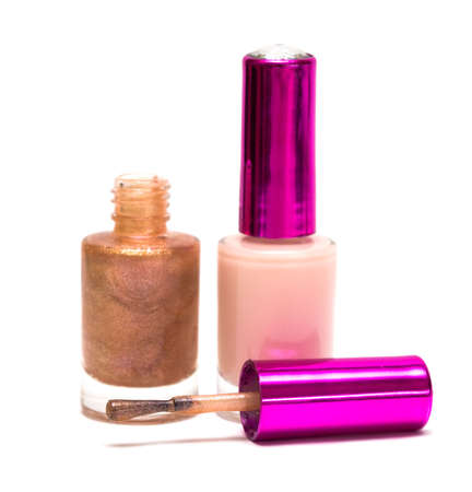 nail polish on white background Stock Photo - 4764451