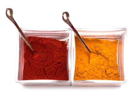 Spice isolated on white background  Stock Photo - 4764454