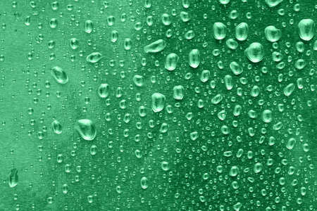 many water drops for background  photo