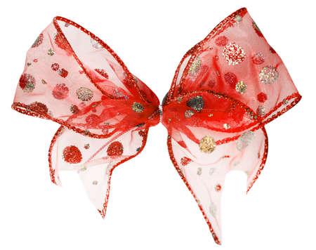 bow isolated on white background Stock Photo - 6063240