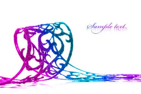 ribbon isolated on white background Stock Photo - 6515103