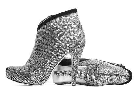 womanish shoes isolated on white background Stock Photo - 6515072